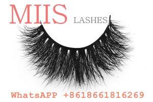 100% mink fur lashes